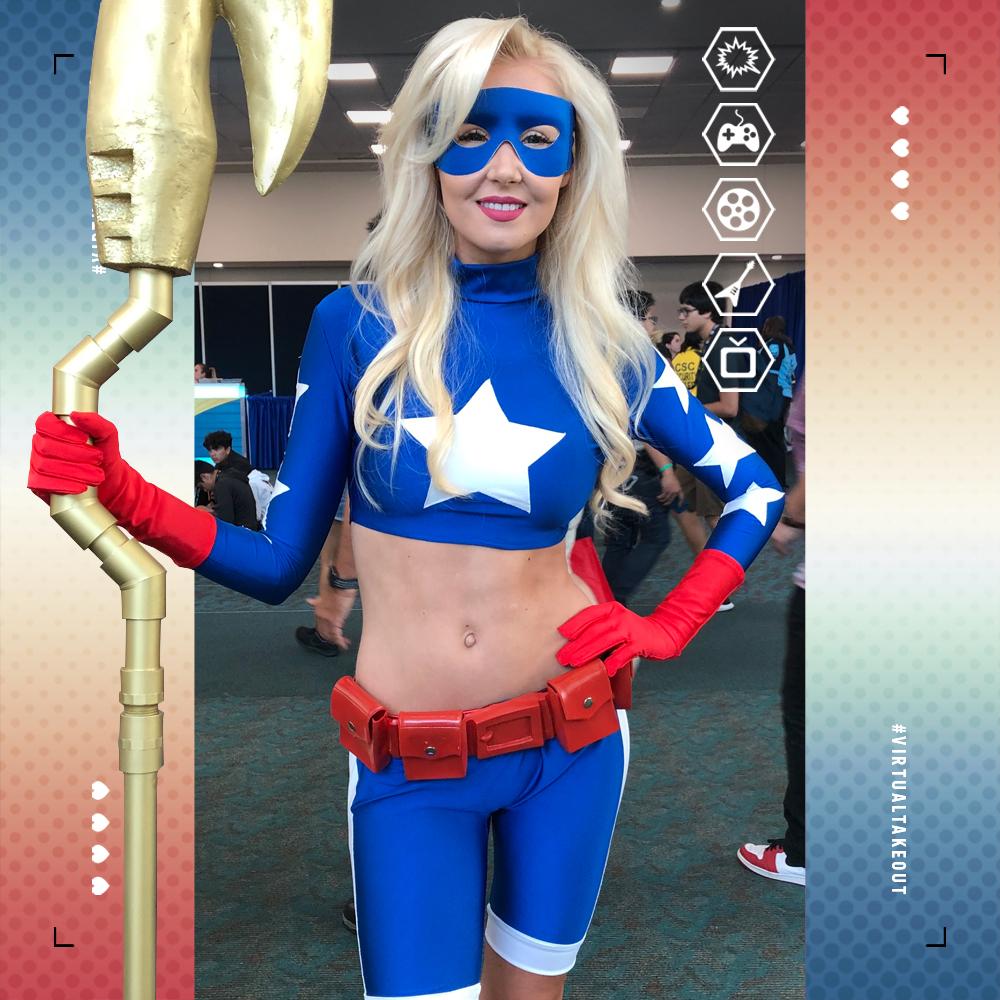 Cosplay 4 the Day  #sdcc2019 #stargirl #cosplay #dc #dccomics #dcu #fandom #geek #fierce #cosplayworld #sdcc #con #jla #sandiegocomiccon #insta #memes #nerd #courtneyelizabethwhitmore #comiccon #comics #trivia #mobilegames #cosplaygirl #virtualtakeouttrivia2go #virtualtakeoutpic.twitter.com/ZKF2rZ3eB6