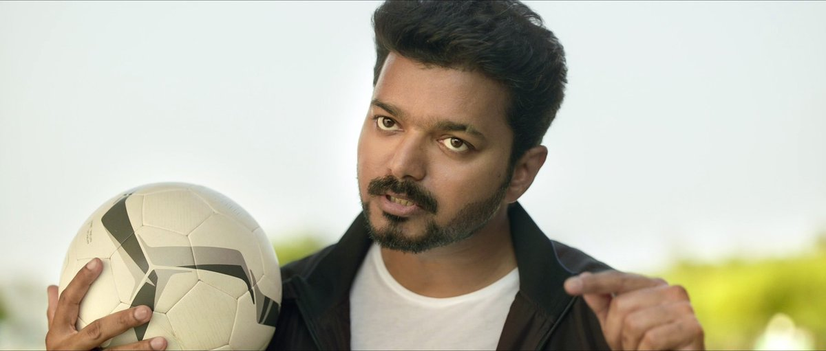 The Handsome #Thalapathy from #Bigil !! @Atlee_dir<br>http://pic.twitter.com/taYlTheNLs