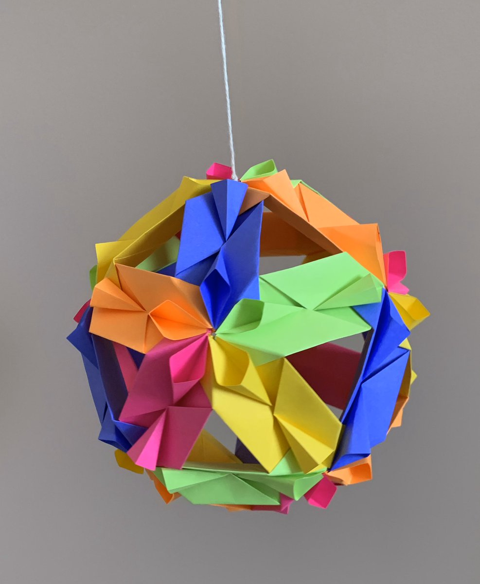 Modular Origami - spiky balls and stellated polyhedra models ... | 1200x987