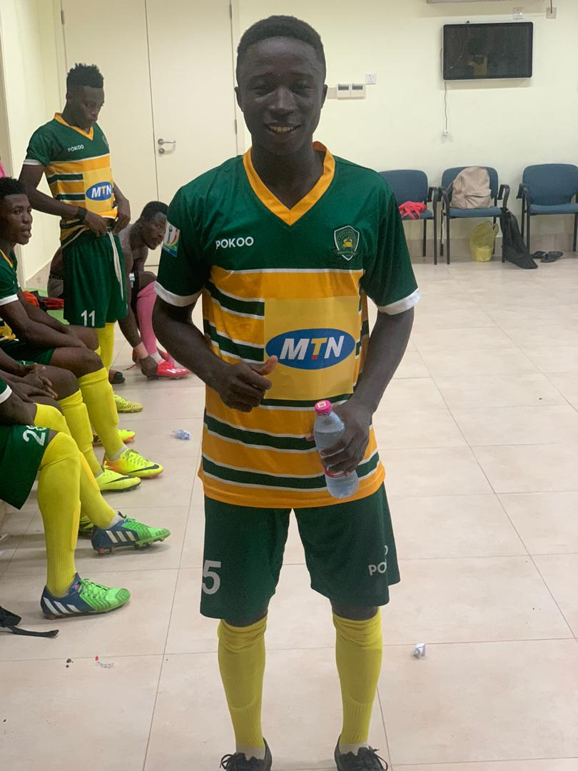 #My  new Star just in SHS one, but playing in Ghana Premier League is no mean achievement. Noch Obeng, big ups to u boy.