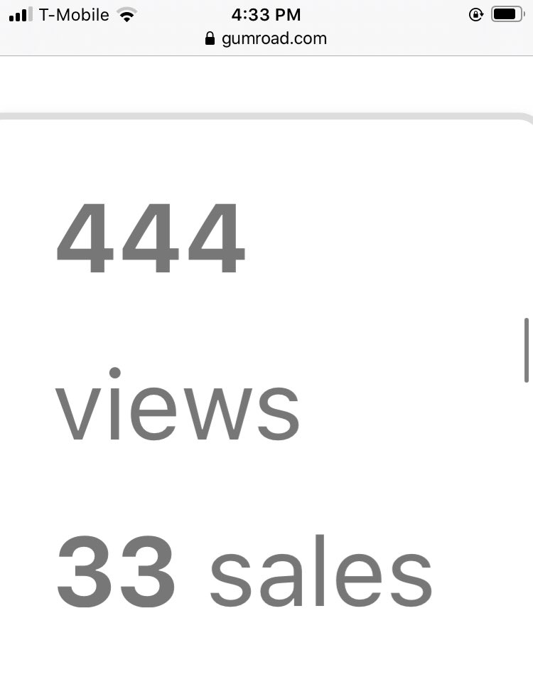 4:33 444 views 33 sales numbers are interesting