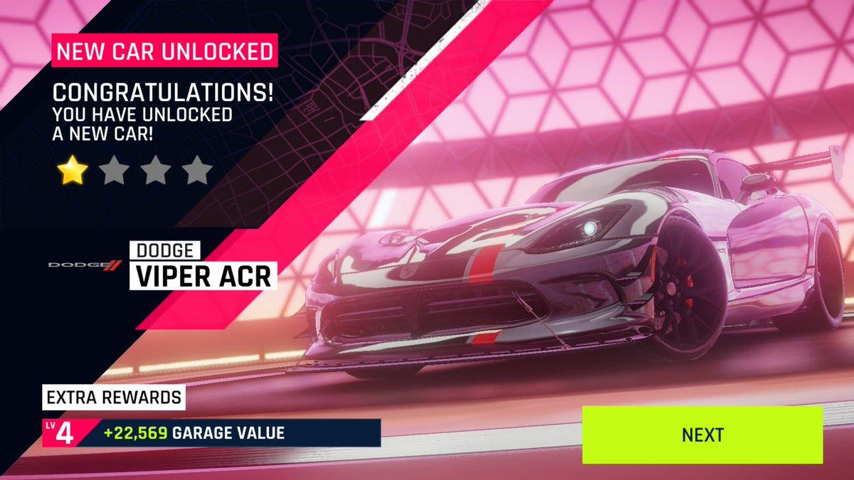 -  New Car Unlocked - Dodge Viper ACR  Asphalt 9 Legends  -. . . #asphalt9legends #asphalt9 #gameloft #dodge #viper #viperacr #racing #singleplayer #onlinegaming #multiplayer #gaming #mobile #mobilegames #androidpic.twitter.com/ionBj54TM3