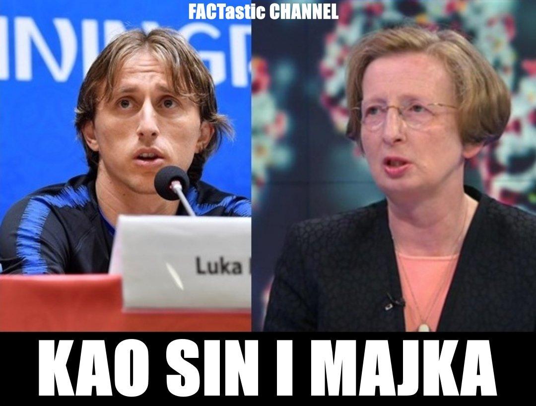 Luka Modrić i Alemka Markotić🤣