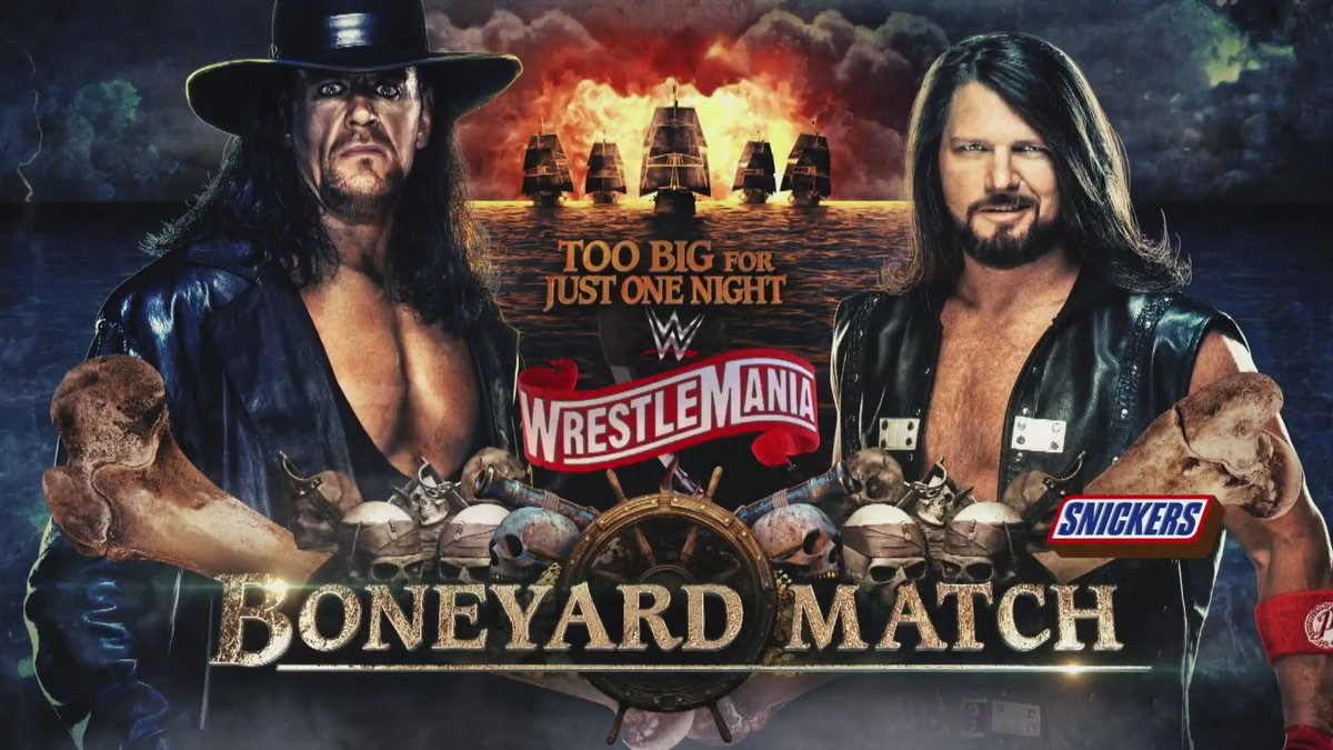 WWE Reveals Matches For Night One And Night Two Of WrestleMania 36