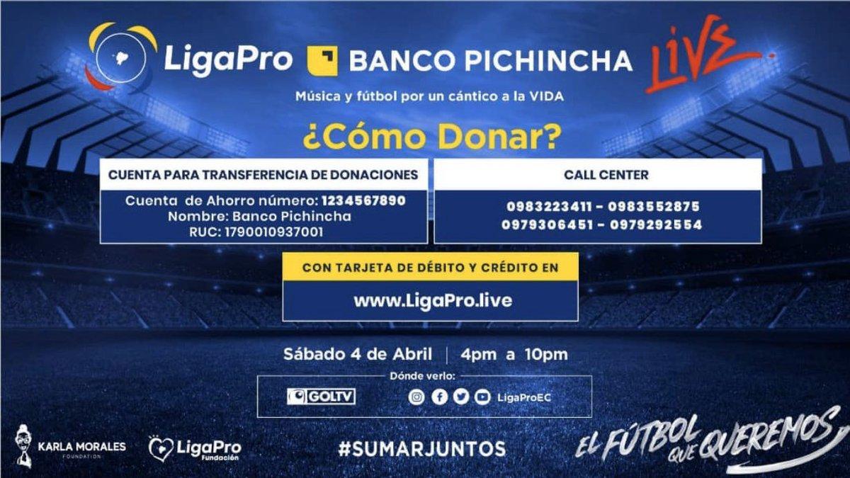 ¿CÓMO DONAR? @BancoPichincha #SumarJuntos https://t.co/EYKwX2rv8j