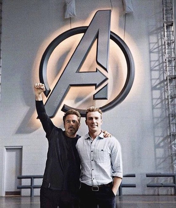 Chris Evans wished his Avengers co-star Robert Downey Jr. a happy birthday by sharing a photo on message.