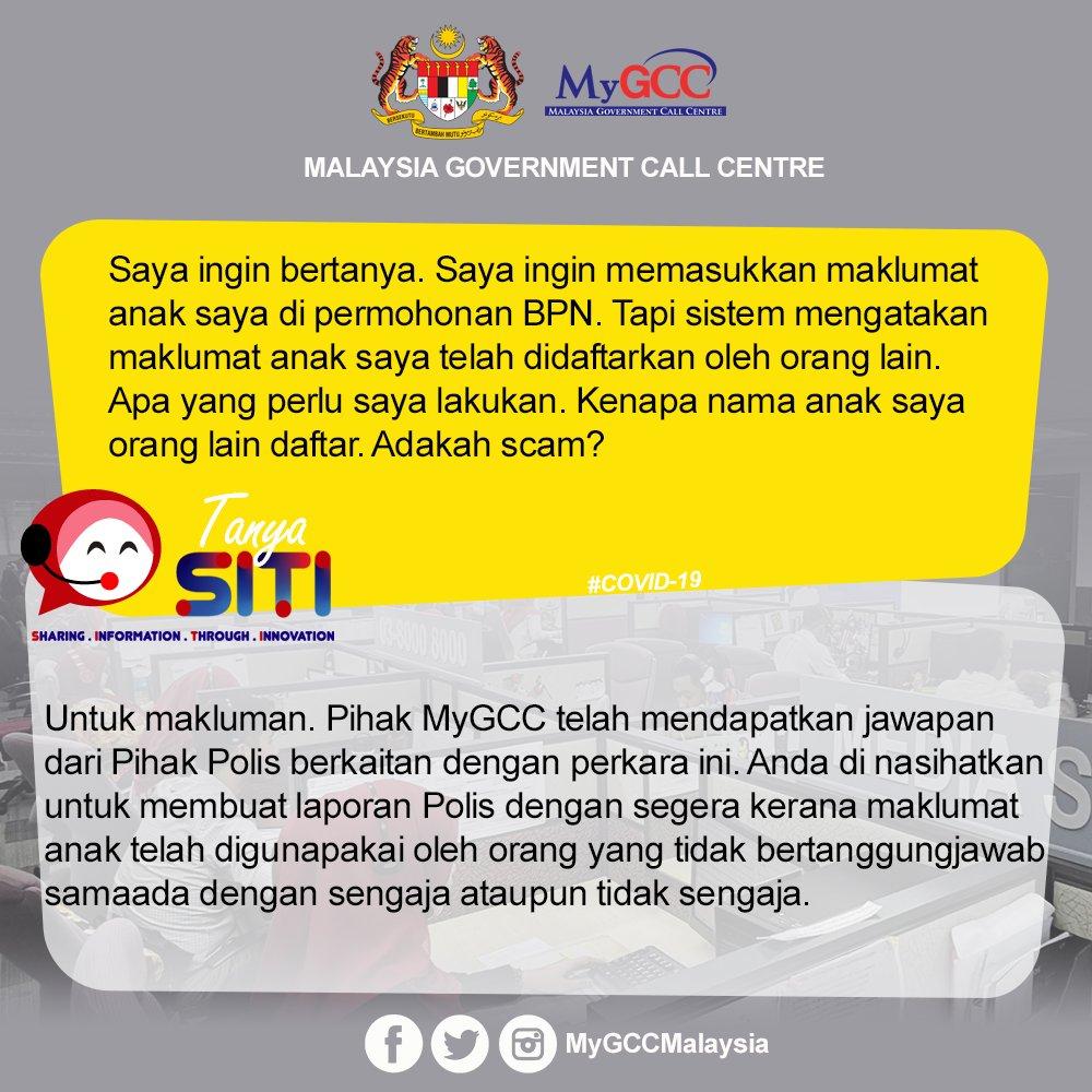 Mygcc On Twitter Buat Laporan Polis Jika Maklumat Anda Atau Anak Anda Telah Diguna Pakai Oleh Orang Lain Menyebabkan Anda Atau Anak Tidak Boleh Mendaftar Bantuan Prihatin Nasional Retweet Mygcc Mampu Jpm