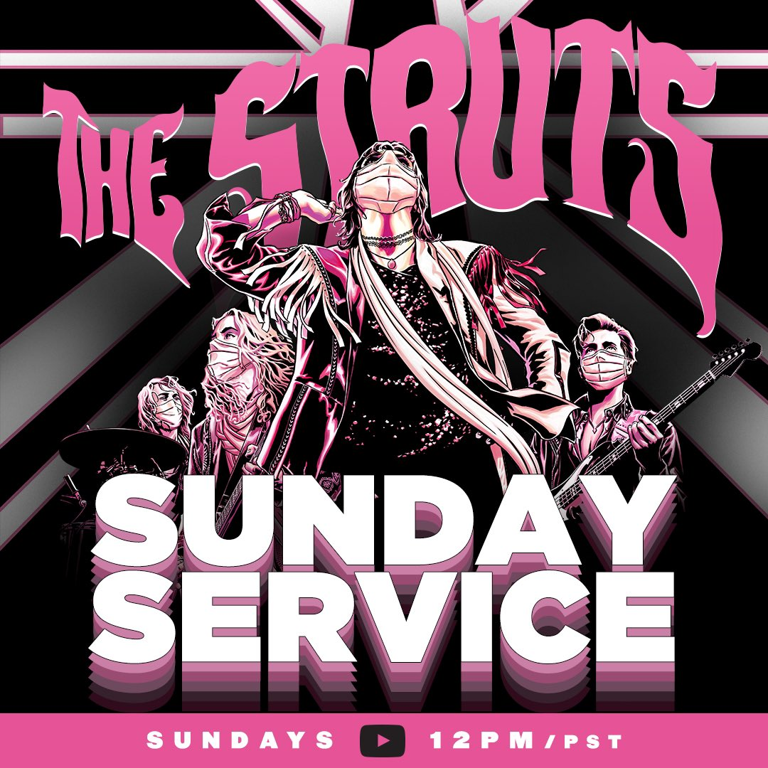 """Ladies & gents, tune in tomorrow for our very first """"Sunday Service"""" programme - a variety show with lots of excitement including a surprise cover song and much, much more. Catch the premiere at 12pm PT on @YouTube: https://t.co/5Nx6cYMjpx  Art by @joequesada & Richard Isanove https://t.co/huhtJxQeU9"""