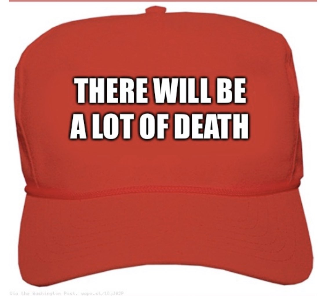 """There Will Be A Lot Of Death""  TRUMP 2020 <br>http://pic.twitter.com/1b6HWYcV1H"