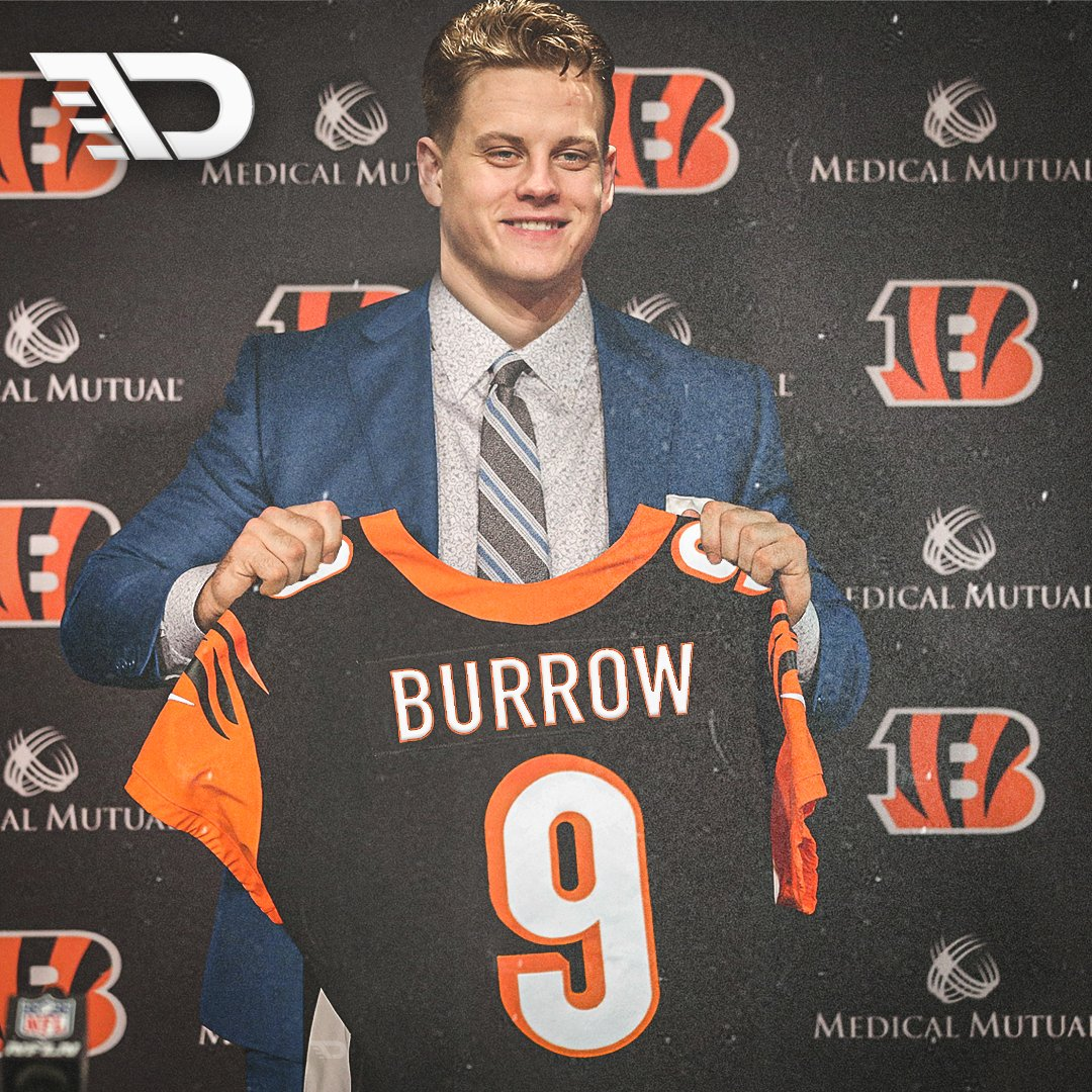 Hey, Cincinnati Bengals fans ...  Retweet: if you want to see this image in 3 weeks. Like: If you'd rather trade pick No. 1 for 4 first round picks.  #FrontOffice33 | #NFLDraft | #SeizeTheDey https://t.co/LzmiyqW2L8