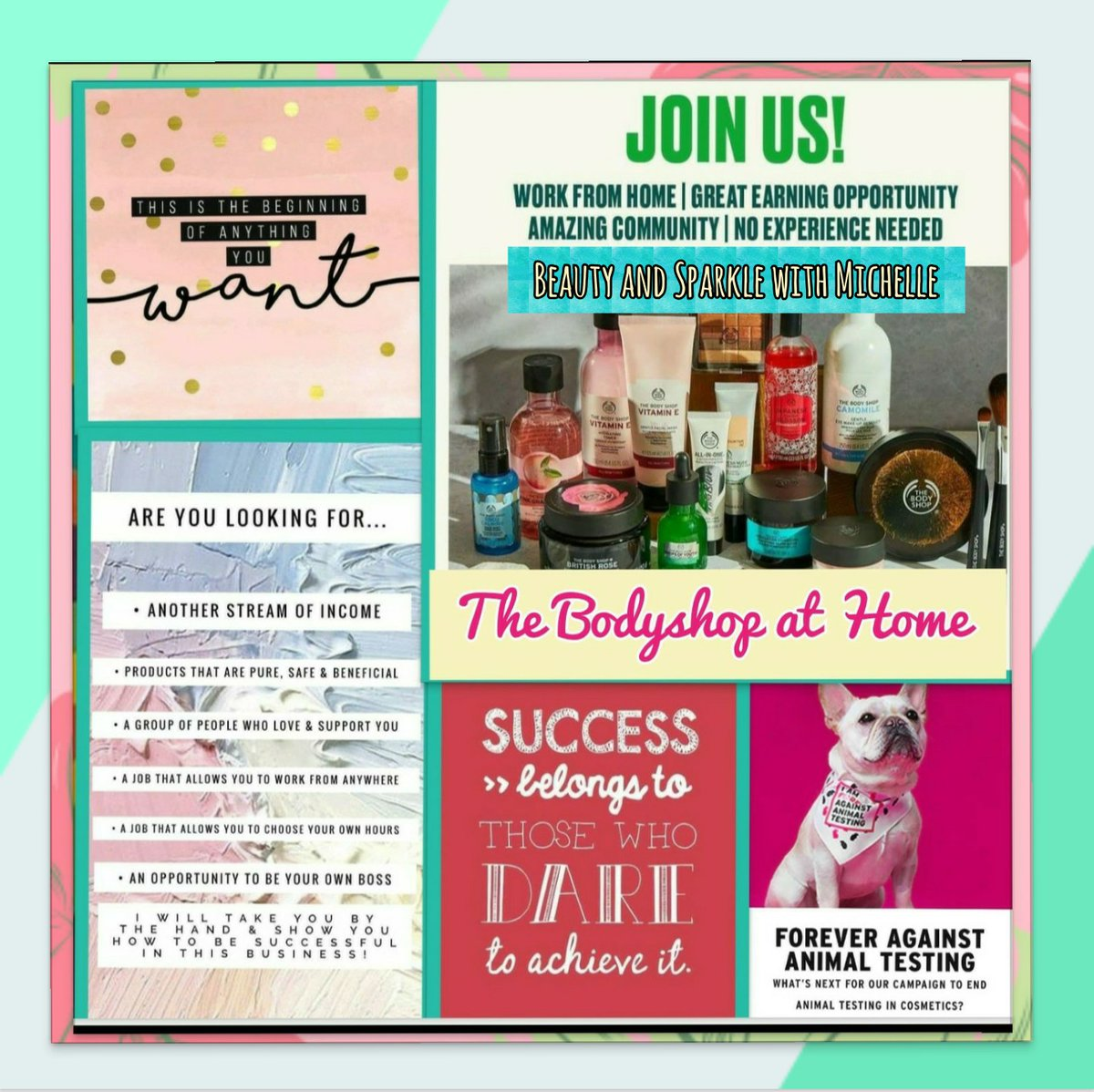 Bodyshop at Home Consultants wanted to join my team, work from home hours to suit, immediate start ..... Ask me for further information #tbsahuk #tbsahconsultant pic.twitter.com/U7srdbNXis