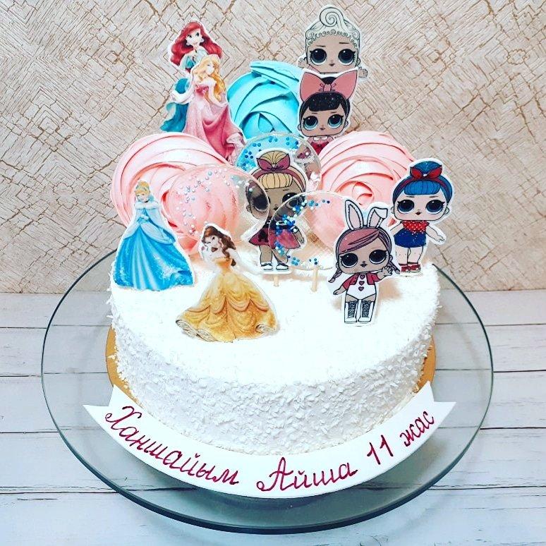 Детский торт #лолсюрприз на заказ в #алматы. Тел 87052760909 pic.twitter.com/tKAskP52AE