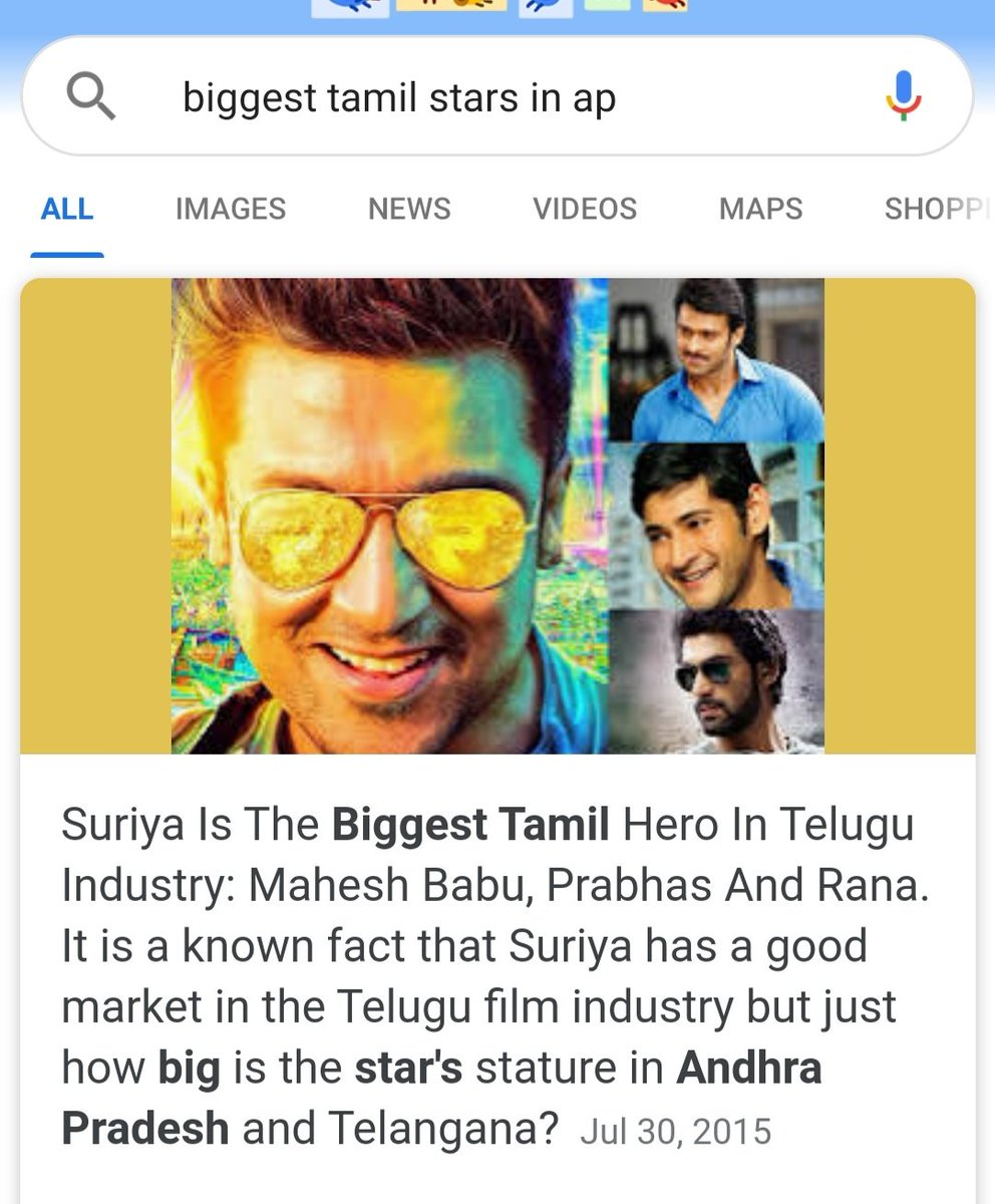 This google search says how surya was popular in telugu states. Waiting for his comeback @Suriya_offl @Suriya_TFC  @Jyothika_Suriya .pic.twitter.com/FDyThg9ltY