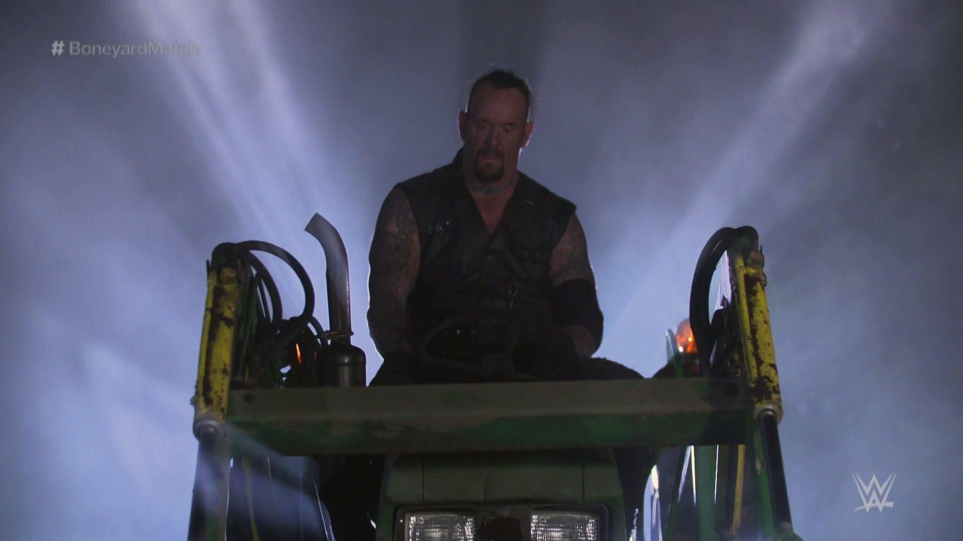 The Undertaker Vs. AJ Styles Boneyard Match Steals The Show At WWE Wrestlemania 36 2