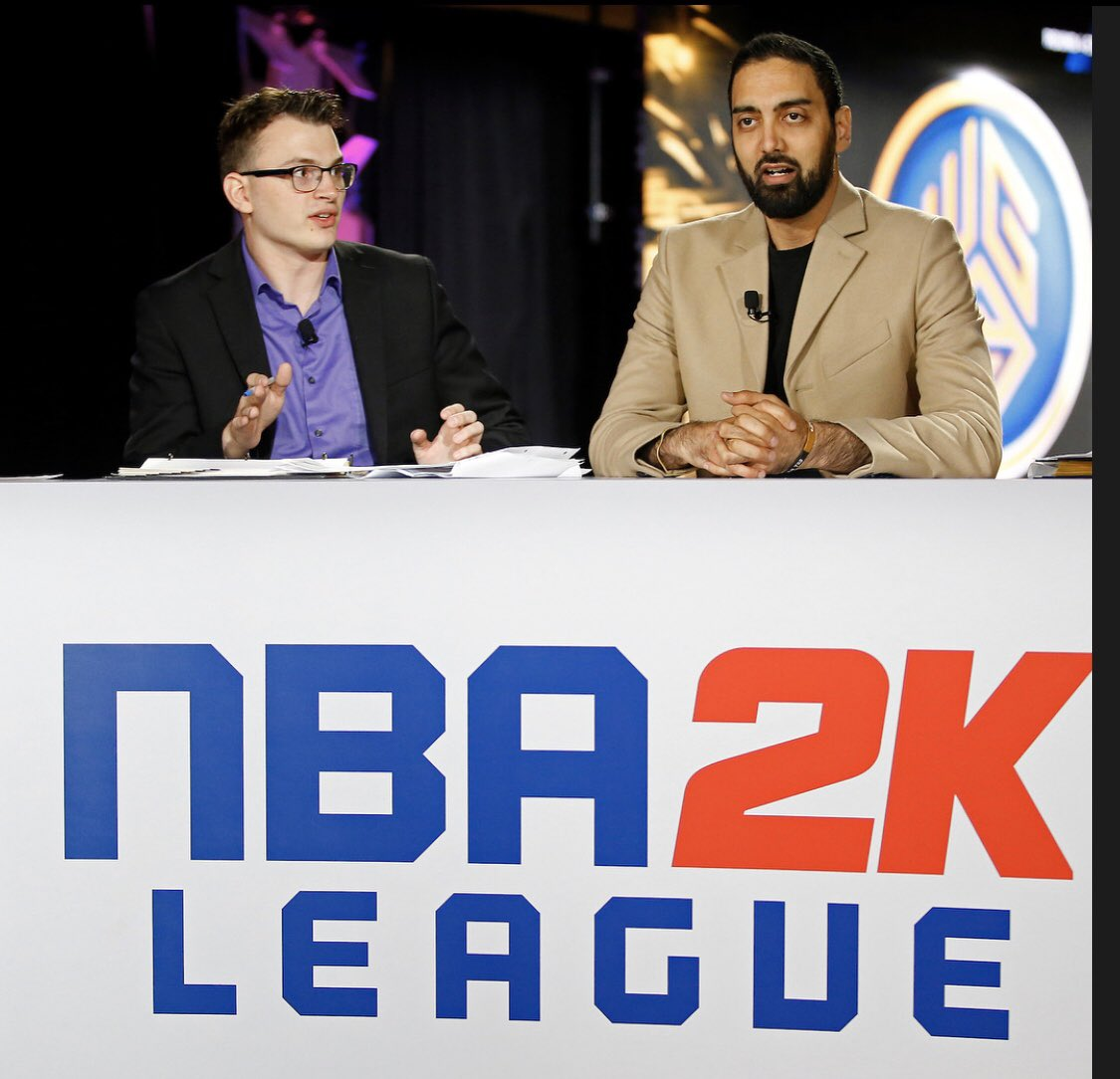 2 years ago today.  #NBA2KLeagueDraft  6.5 hours talking about picks in all rounds, it was a marathon, but a life changing one. <br>http://pic.twitter.com/P7ZmJr3vc8