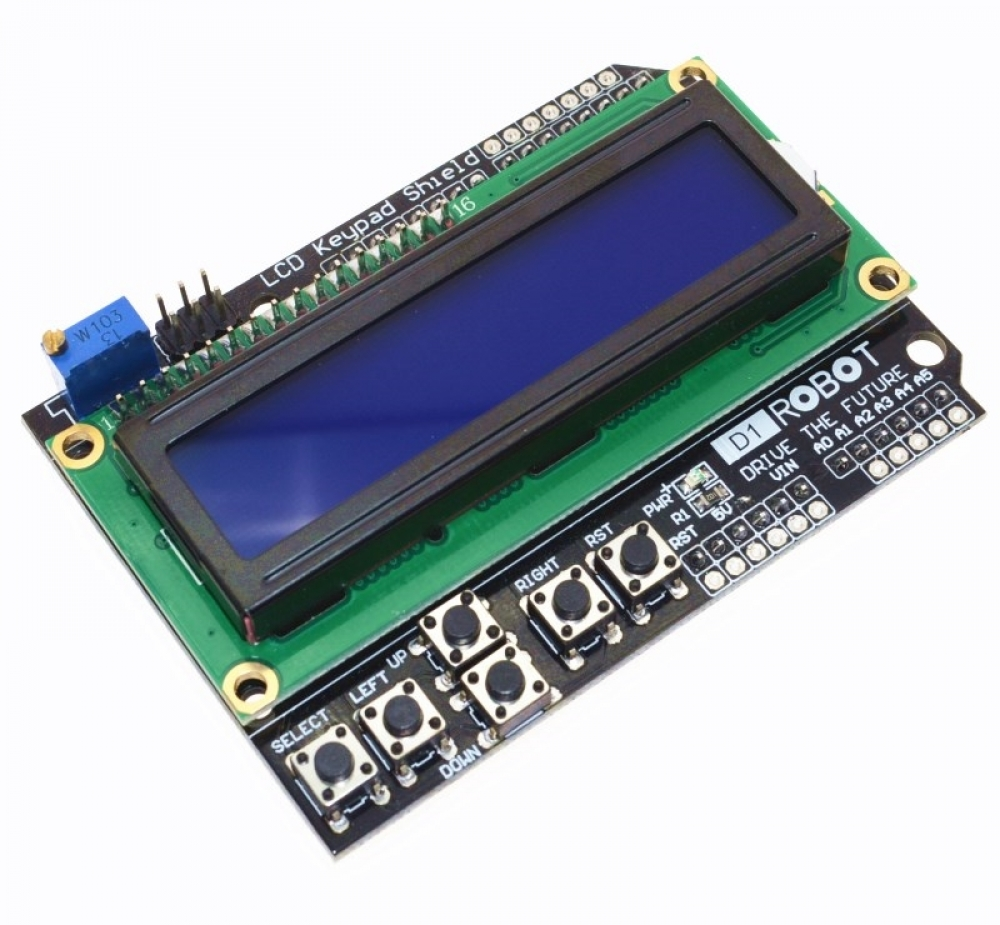 LCD Keypad Shield for Arduino 5.99 $ and Free Shipping! #3dprintingshop #3dprintingworld #3dprintingday Get it: