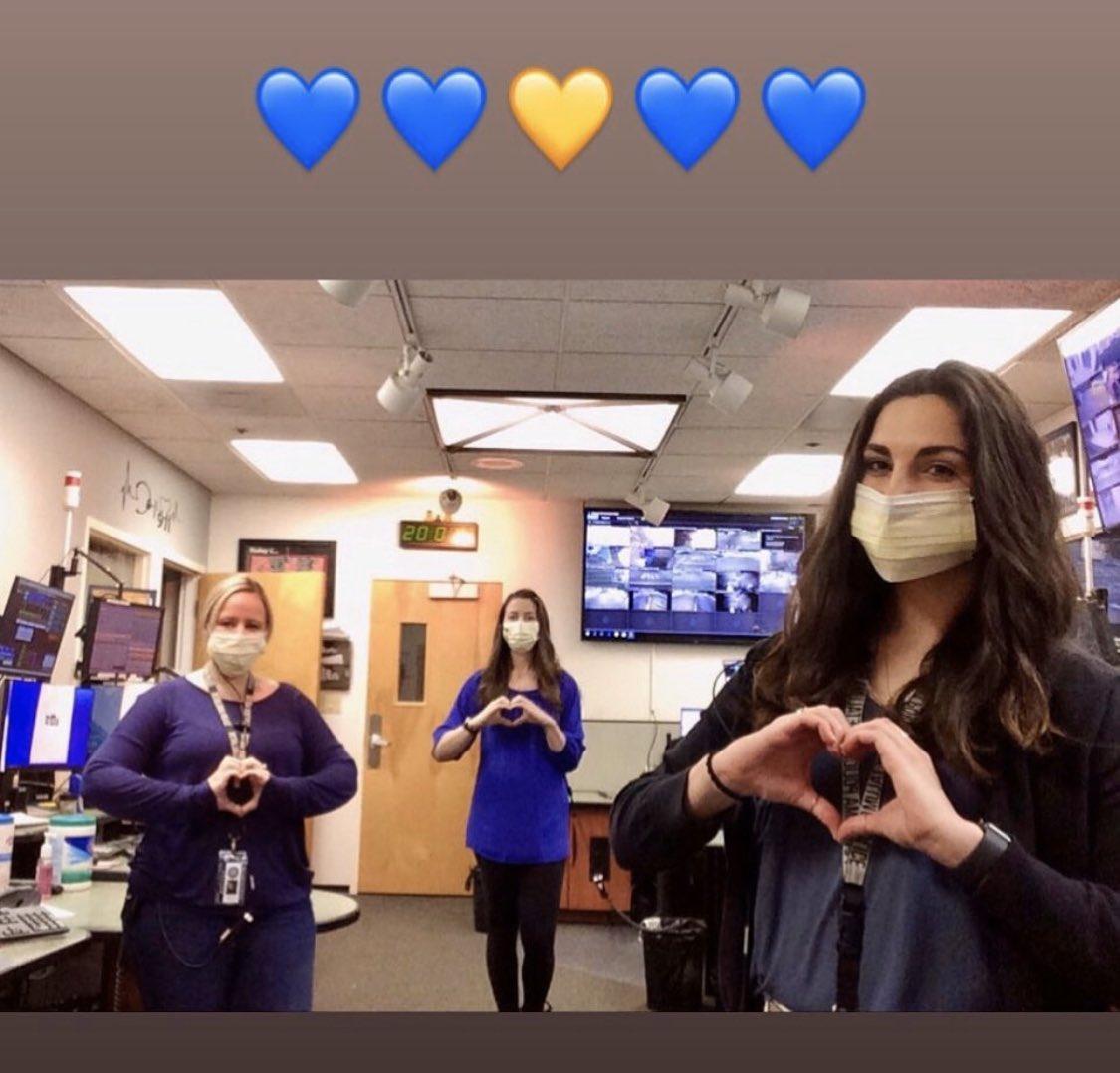 Yesterday our Dispatchers wore #BlueForMarylou #ppddispatch #RIPMarylou #thinblueline #petalumapolice #santarosapolice #petalumaproudpic.twitter.com/Xn2RHTU9Ui