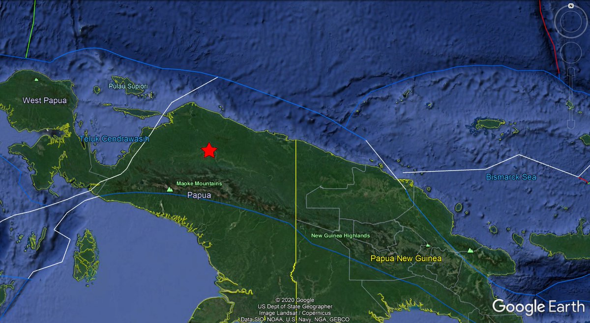 #Indonesia: A mild #earthquake of magnitude mb=4.4, was registered at 245KM W of #Abepura, province of #Papua. Depth: 59KM. More info: https://on.doi.gov/3aIo6Zb Apakah Anda merasakan gempa ini?, Ceritakan!. #EQVT,#gempa,#GempaBumi,#seísmo,#sismo,#temblor,#terremoto,#aardbeving.pic.twitter.com/tG1Mas5C8Q