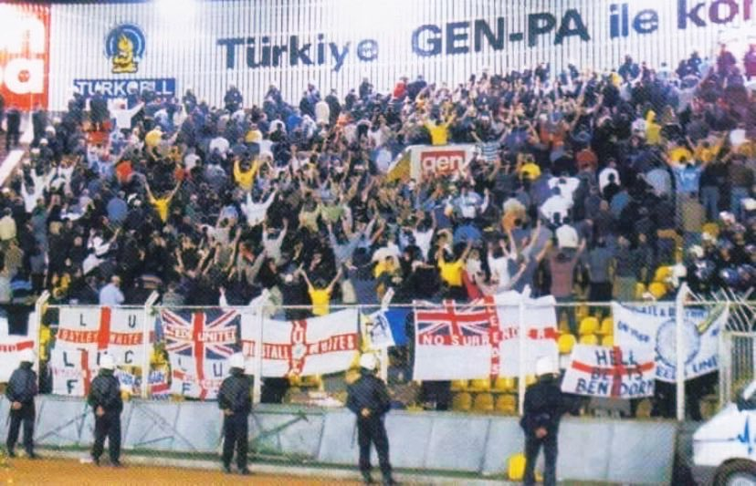 20 years. fuck galatasaray, RIP Chris and Kev #lufc <br>http://pic.twitter.com/tKL7sVdsce