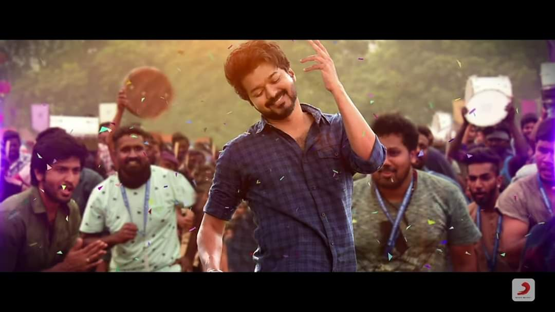Bigil trailer 2.3+m likes Kutty story 1.6+ likes (Master) Sarkar teaser 1.4+m likes Verithanam 1.3+m likes (Bigil)  Singapenney 1m likes  Mersal teaser 1.1+m likes Vaathi coming 954k likes (#Master)   The only south Indian actor to have this record <br>http://pic.twitter.com/opdxq77Z5c