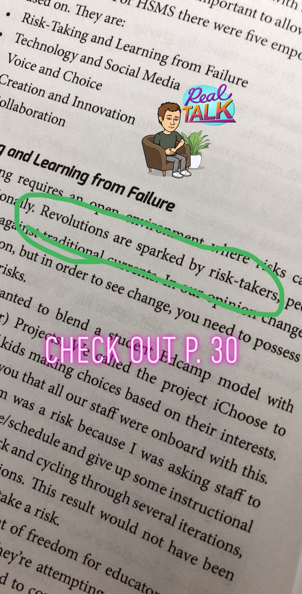 A3: Truth from our book: See the #booksnaps below! @TaraMartinEDU bit.ly/TheRevolutioni… #RevoltLAP