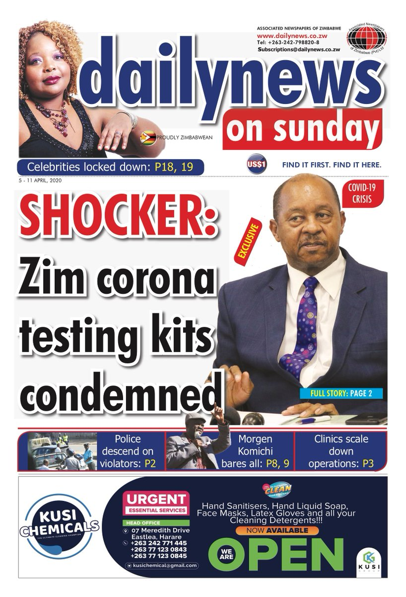 Zim Corona kits condemned