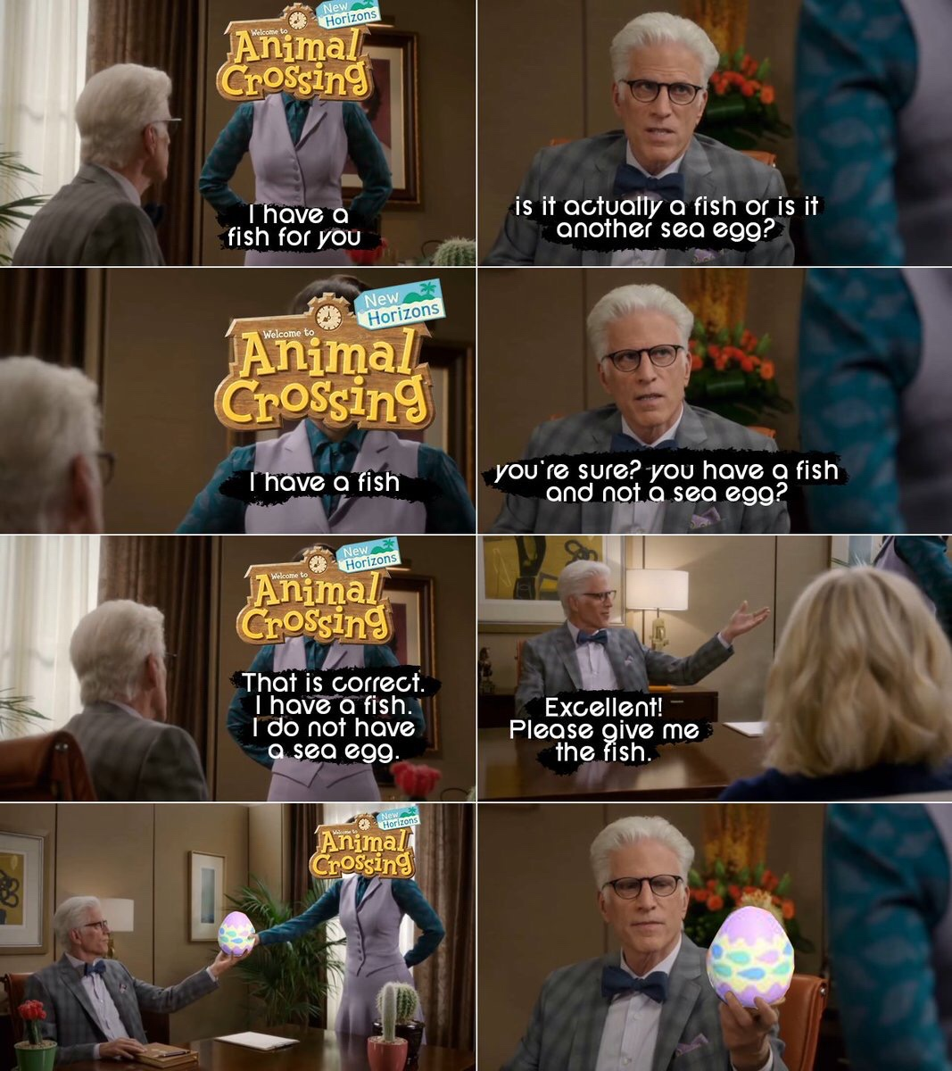 Please send all and any The Good Place memes. <br>http://pic.twitter.com/VbNzZCuduJ