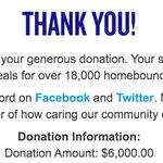 Image for the Tweet beginning: We raised over $5K tonight