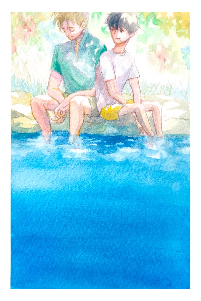 """#illustration  """"Call me by your name """" pic.twitter.com/7b5hVC0bvV"""
