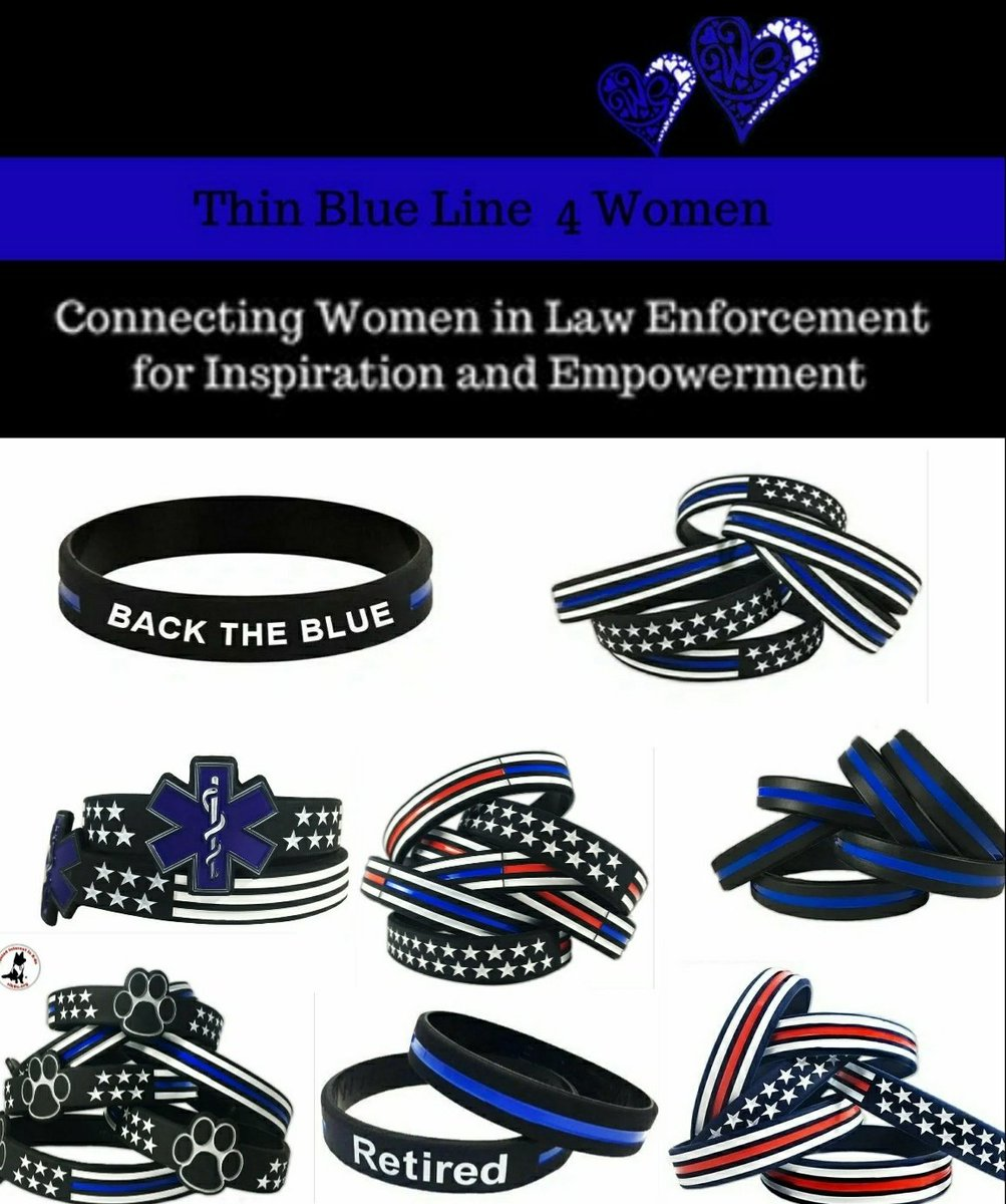 PLEASE RETWEET!   To honor the sacrifice and service of our law enforcement, we ask that you wear your Thin Blue Line wristbands during this time. Let's stand in unity with the Thin Blue Line and show our support!   ON SALE NOW https://bit.ly/2J3KvnH  #thinblueline #COVID19pic.twitter.com/kPW7lb4zHm