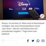 "Image for the Tweet beginning: ""Disney+ (gesprochen Disney Plus)"" -"