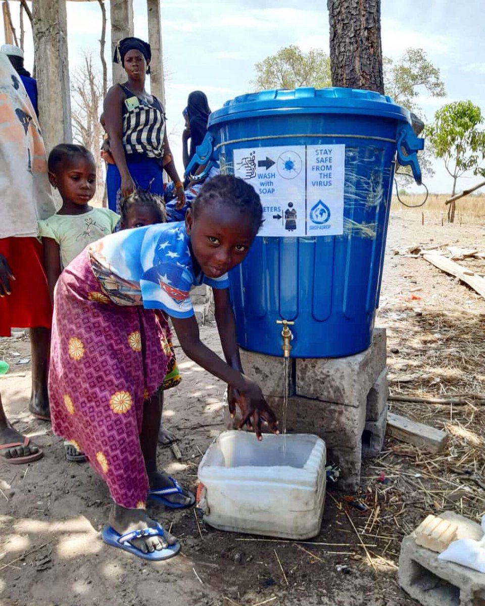We are pleading for your support today to help us access communities that need our help! We are tackling COVID-19 through the provision of hand washing facilities in The Gambia, Mozambique, South Sudan & Uganda ‼️💧 #weareallinthistogether #cleanwaterforall ✨ https://t.co/cUB6tcfcn9