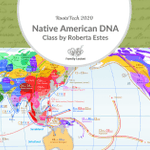 Image for the Tweet beginning: Native American DNA by Roberta