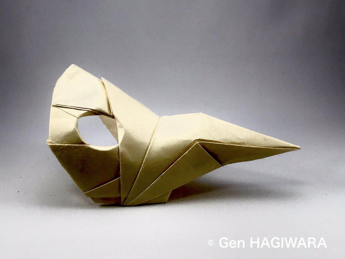 マスク 折り紙