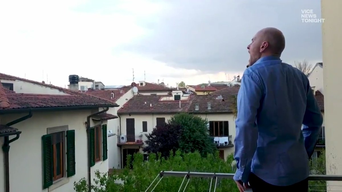 After an Italian opera singer went viral for singing from his balcony, he struggled with the death of a friend. @dexdigi spoke with him about why he stopped singing, and why he's decided to come back.
