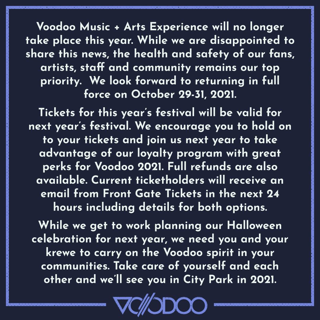 Voodoo Experience 2020