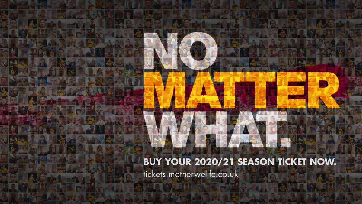 Were pledging that everyone who buys a 2020/21 season ticket will get the full value of their purchase. No matter what. Help us by buying your season ticket when you can. bit.ly/3c56NkR