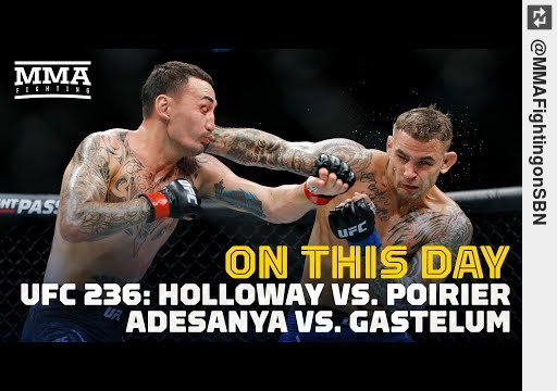 Wanna see On This Day in MMA: #UFC236, 'Event of the Year' in 2019 - MMA Fighting https://t.co/sG6ejFaJo3 #mma https://t.co/zngRJPrr5n