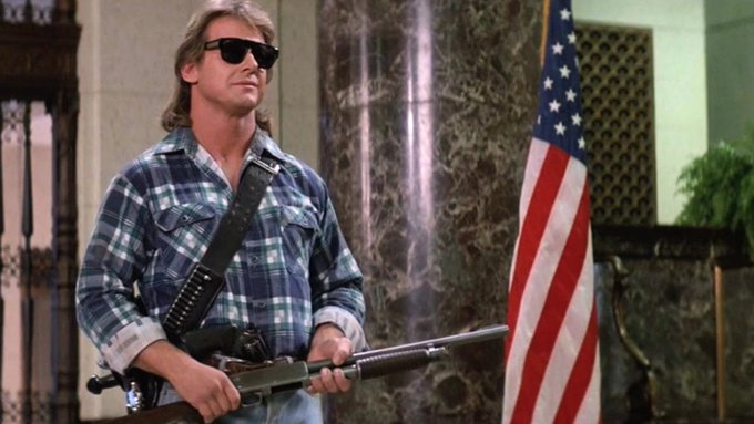 Happy birthday to the late great Roddy Piper ...two great roles here as well as a wrestling legend