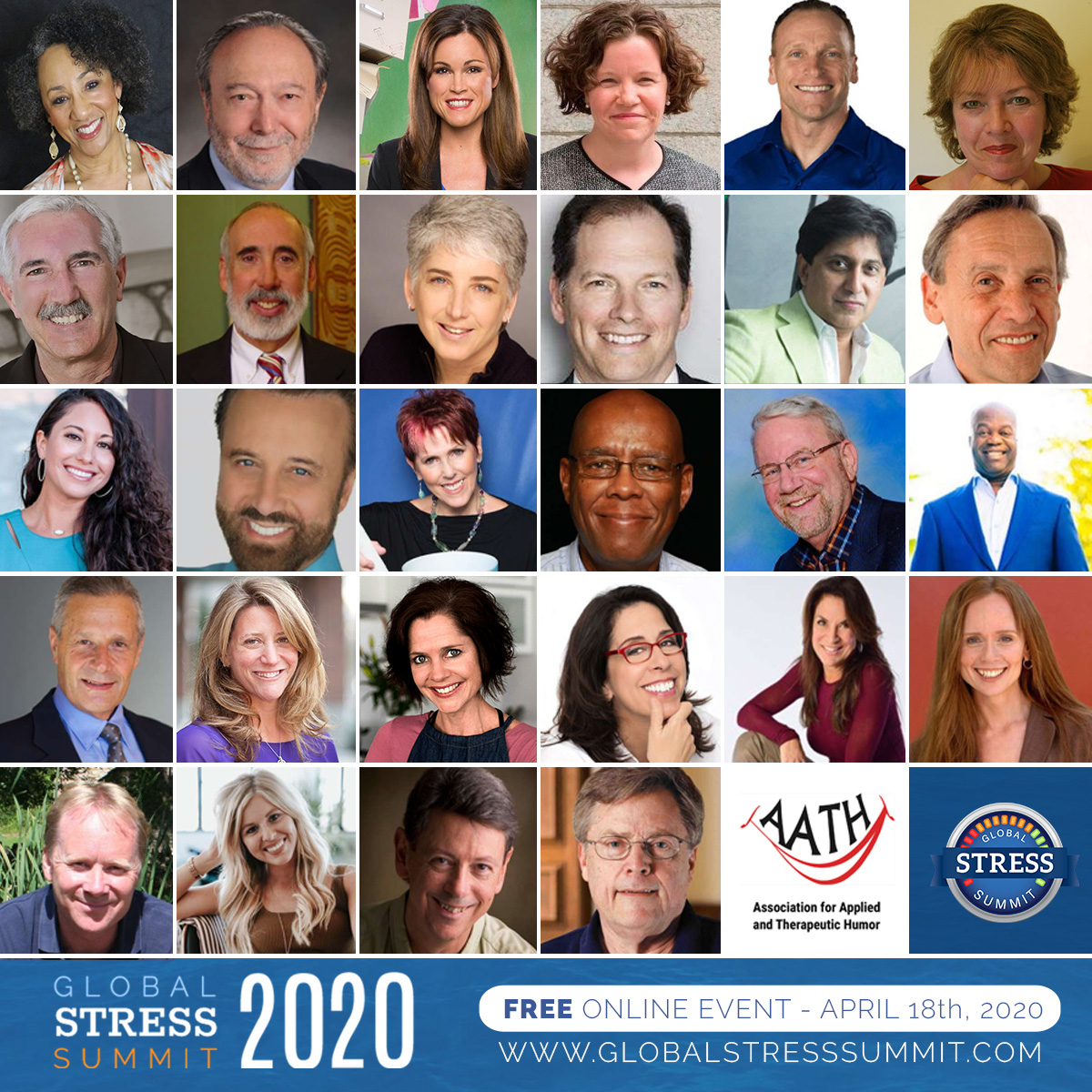 """Excited to be part of the Global Stress Summit 2020 presenting on """"Healing Racial Stress and Intergenerational Trauma""""! The FREE event is LIVE ONLINE April 18-19! https://t.co/8utz7QqTMq #stress #stressmanagement #resilience #racialstress #racialtrauma #healing #soulfulness https://t.co/KpqBhonYcj"""