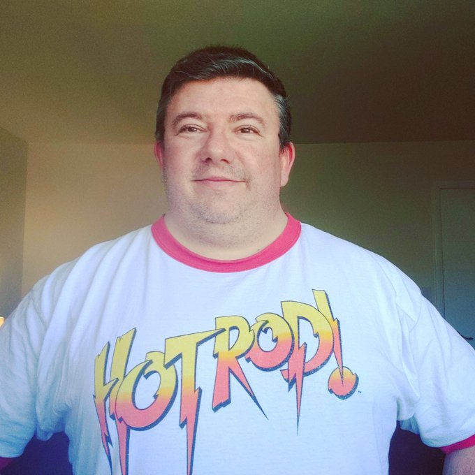 Oh yeah today\s t-shirt is very fitting.  Happy Birthday in heaven Rowdy Roddy Piper.