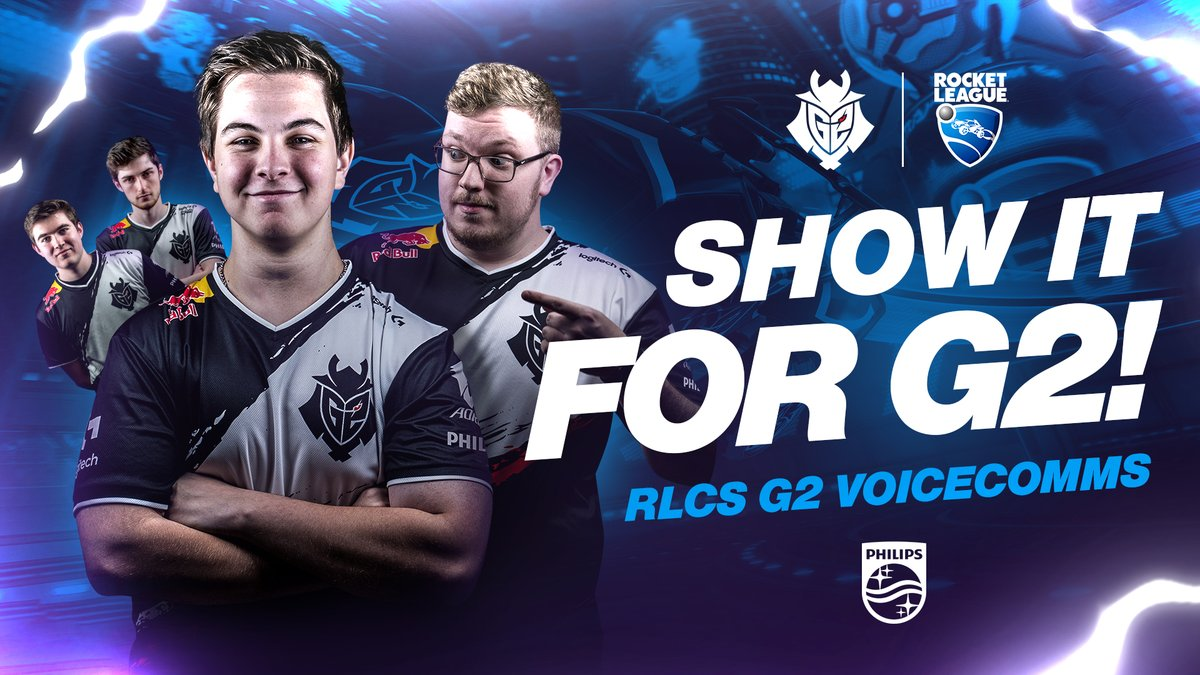 You asked, we've delivered!  G2 #RLCS9 voicecomms are here!  🎥 WATCH: https://t.co/FePGVYmgVE https://t.co/A7FXDxJfgu