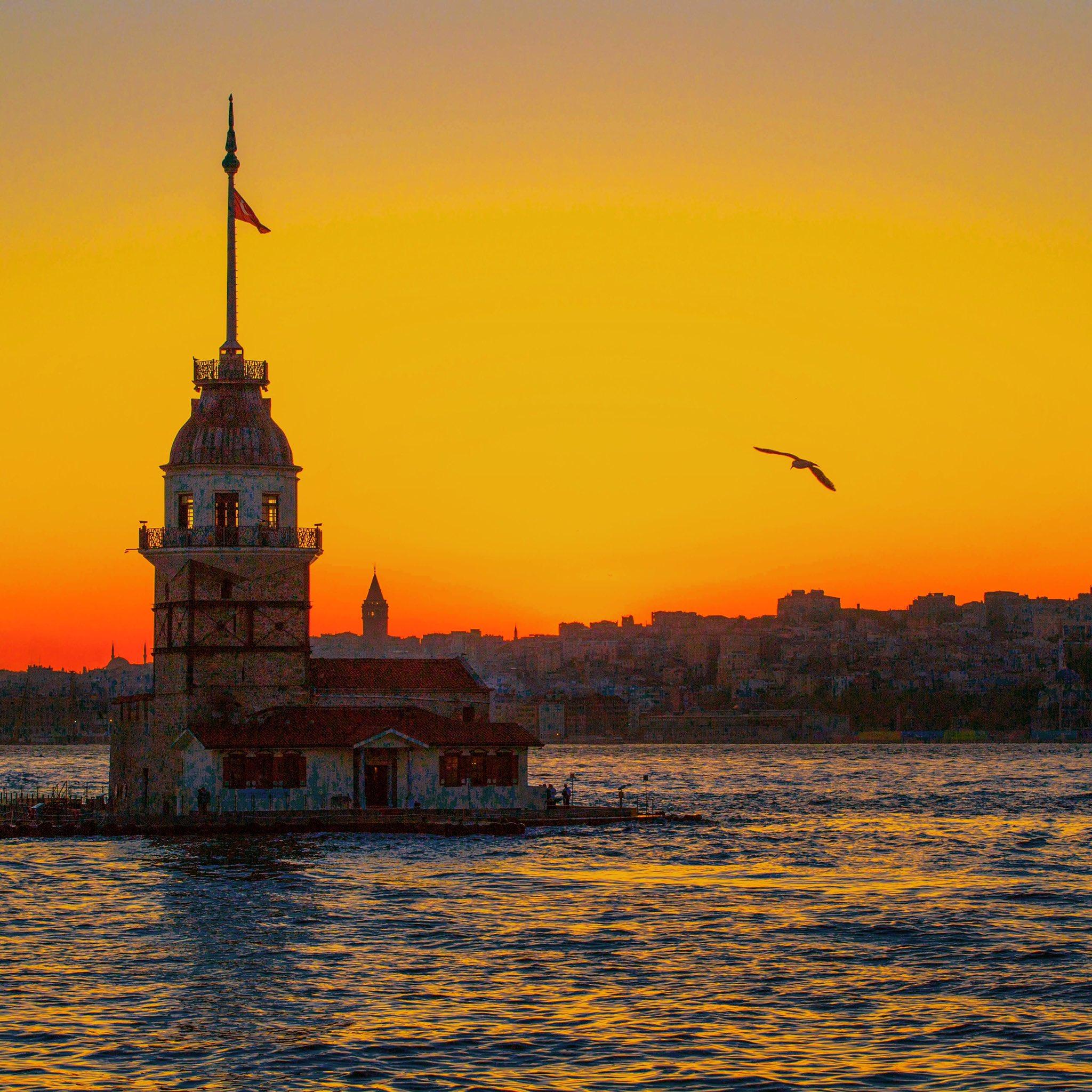 EV0vvQvXsAodH8k?format=jpg&name=large İstanbul'da Günbatımı Manzaraları... Genel Haberler
