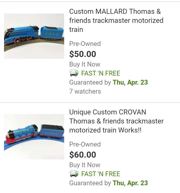 Unique Custom CROVAN Thomas /& friends trackmaster motorized train Works!!
