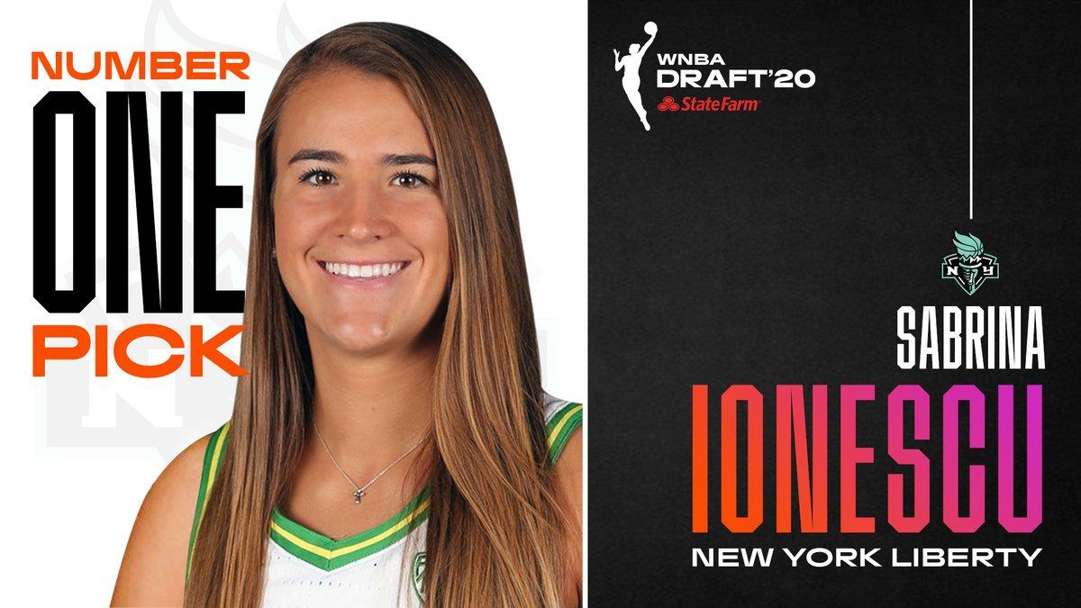 Sabrina Ionescu, elegida número del WNBA Draft 2020