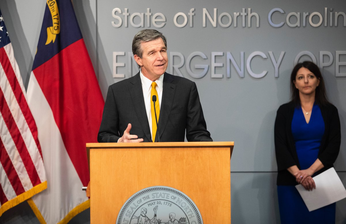 Gov. Cooper will be making an announcement about what's next for North Carolina. Tune in live at 5 PM.