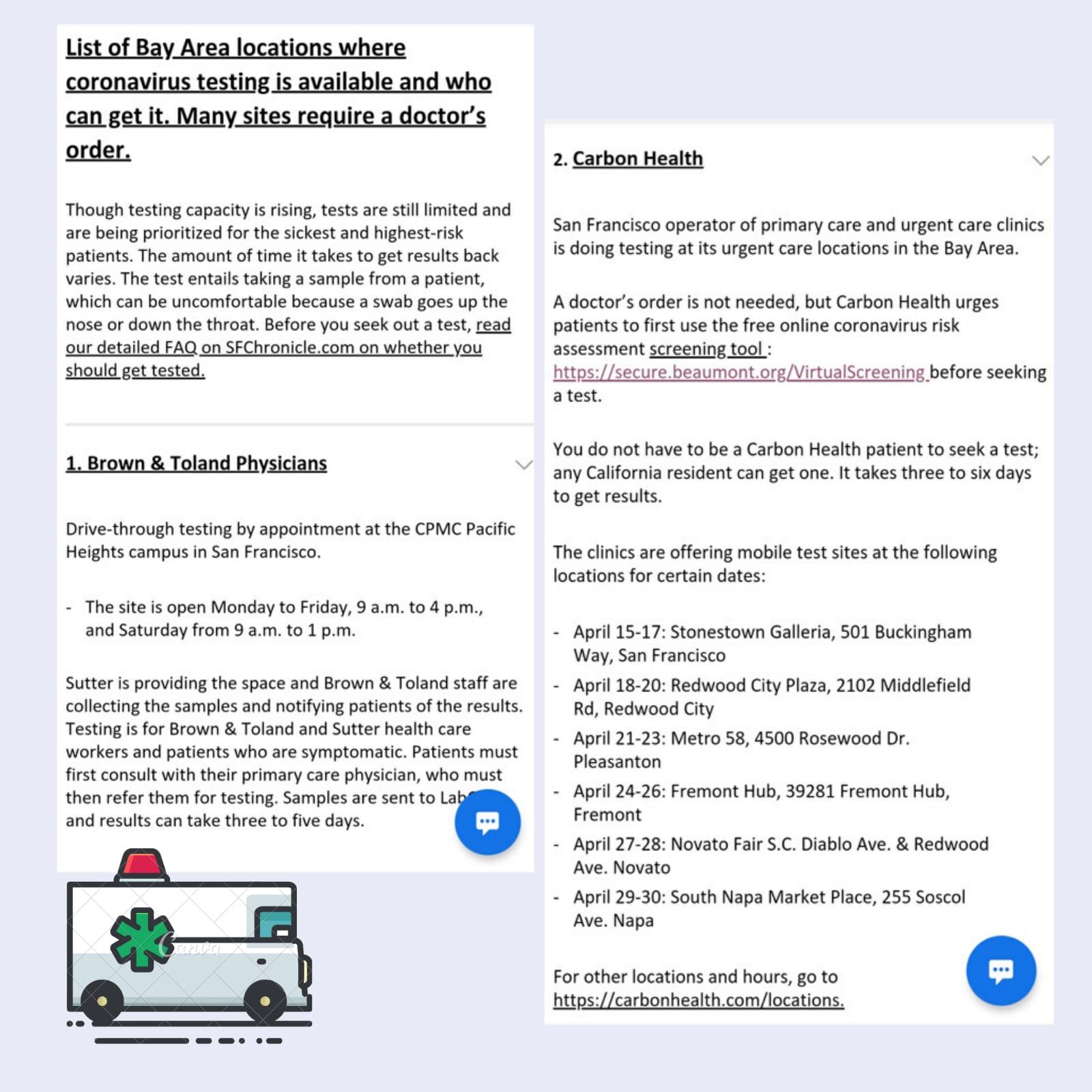 Kjri San Francisco On Twitter Halo Diplomates Berikut Informasi Penting Bagi Masyarakat Yang Membutuhkan Tes Covid 19 Di San Francisco Bay Area Https T Co Ztuj7qaubo