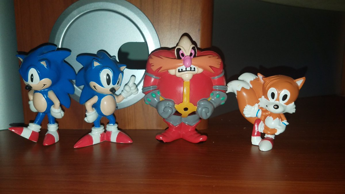 Mariomario64646464 On Twitter Finally Got The Robotnik To This Old Tomy Sonic The Hedgehog Toy Set