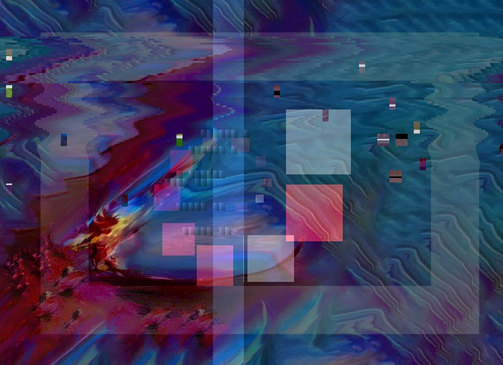 😪🔦 glitchart glitch abstractpainting aiglitchart painting aiart 1337art Origin img by @danijoy_art