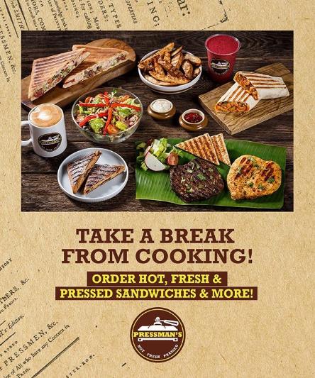 We have got you covered! We deliver across Dubai! Order via @deliveroo_ae @zomatouae @talabatuae @drivuapp @Careemuae.  #PressmansSandwich #HotFreshPressed #Contactlessdelivery #UAE #Foodies #pressedSandwich #Salads #PressedWraps #UAERestaurants pic.twitter.com/OBJ3S2h6mx